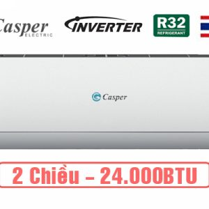 Điều hòa Casper inverter 24000BTU 2 chiều GH-24TL32